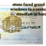 History captured in watercolours and Haiku by local artist