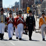 100th Regiment marches in Pipefest