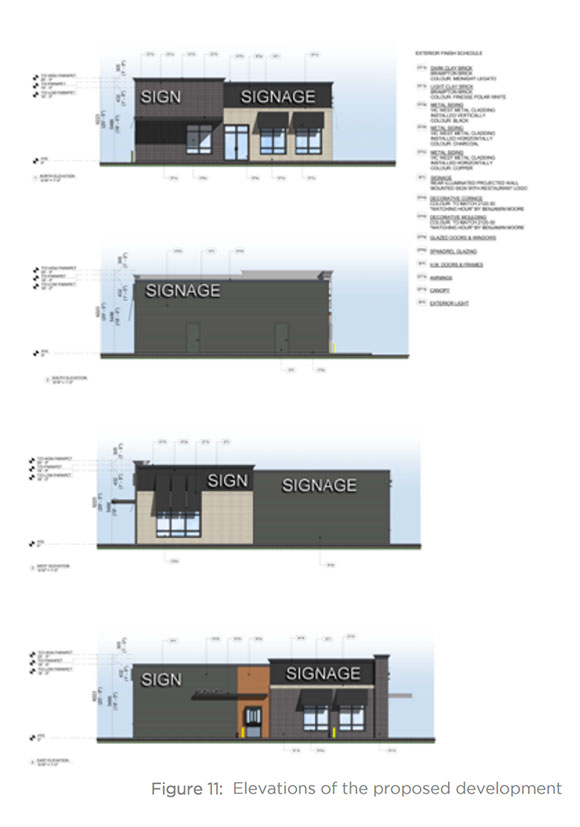 1251 Stittsville Main elevation drawings