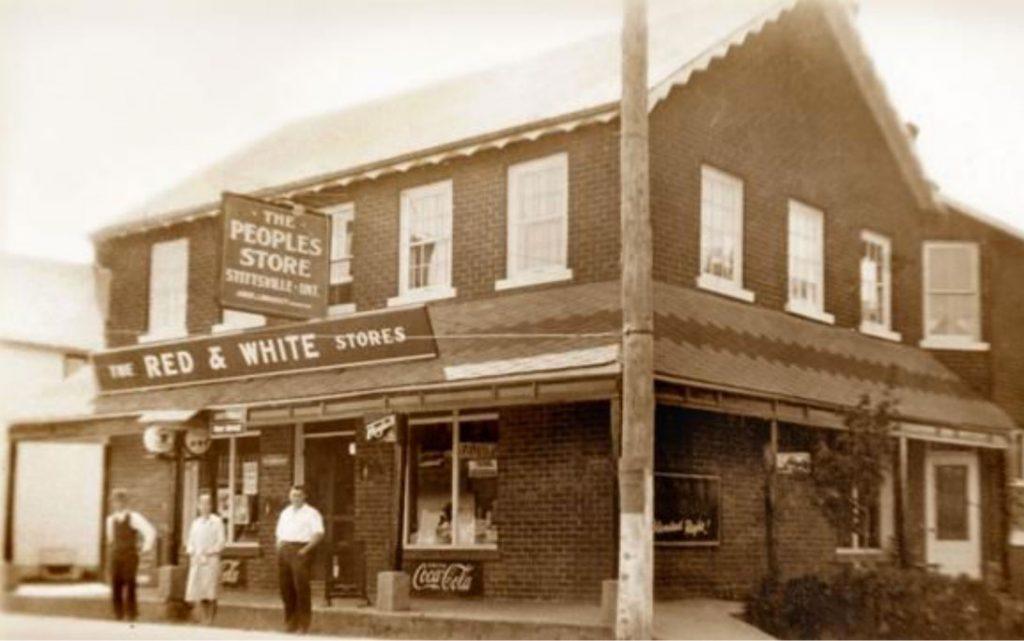 Bradley's General Store at 1518 Stittsville Main Street. Date unknown.
