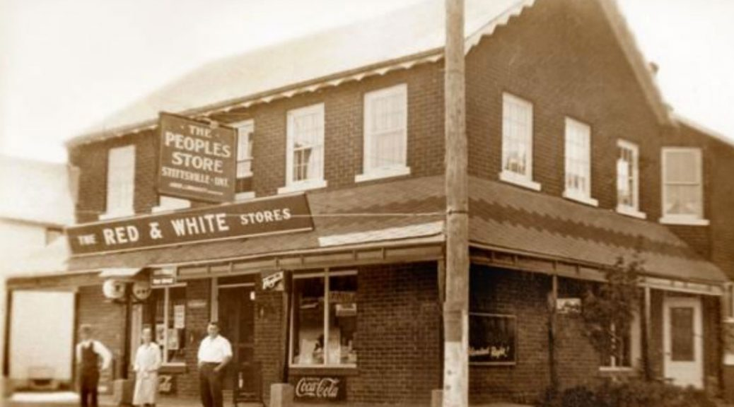 Bradley's General Store at 1518 Stittsville Main Street. Date unknown.