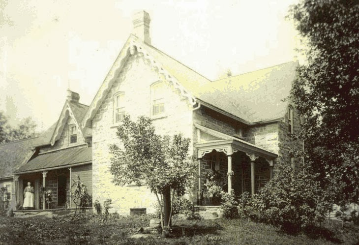 Boyd House at 173 Huntmar Drive in Stittsville, circa 1900.