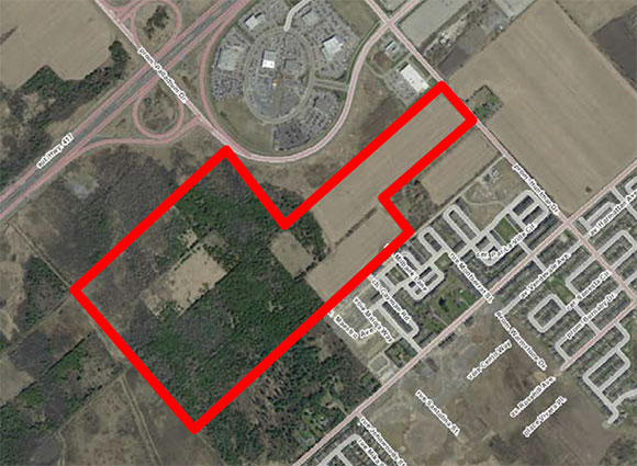 195 Huntmar development land