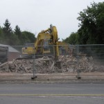 It came in like a wrecking ball: 1518 Stittsville Main Street demolished