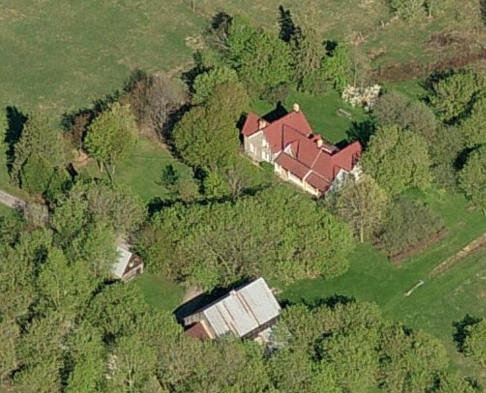 173 Huntmar Aerial View