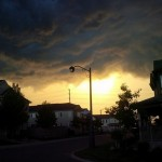 Photo of the Week: Stormy sunset