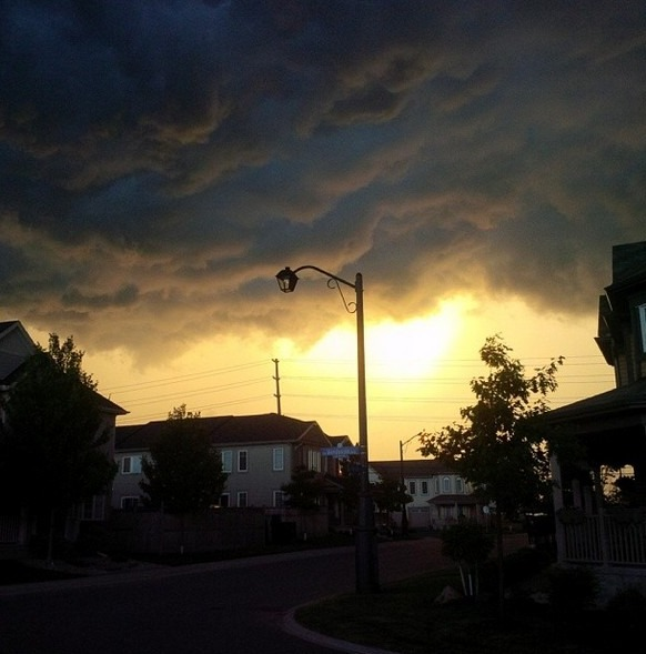 Stormy Sunset in Fairwinds