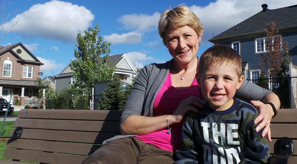 Jenny Guth and son Levi