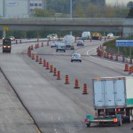 Westbound Queensway lanes to re-open by Friday