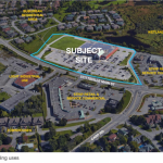 New site plan application for two buildings in Brown's parking lot