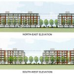 344 units proposed for apartment buildings on 21 Huntmar Drive