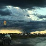 PHOTO: A threatening sky
