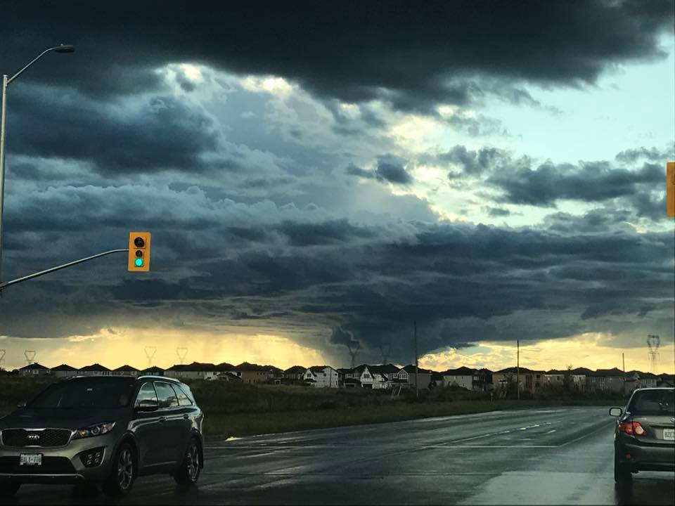 Storm clouds near Terry Fox and Cope on September 7, 2017. Photo by Victoria Tyers.