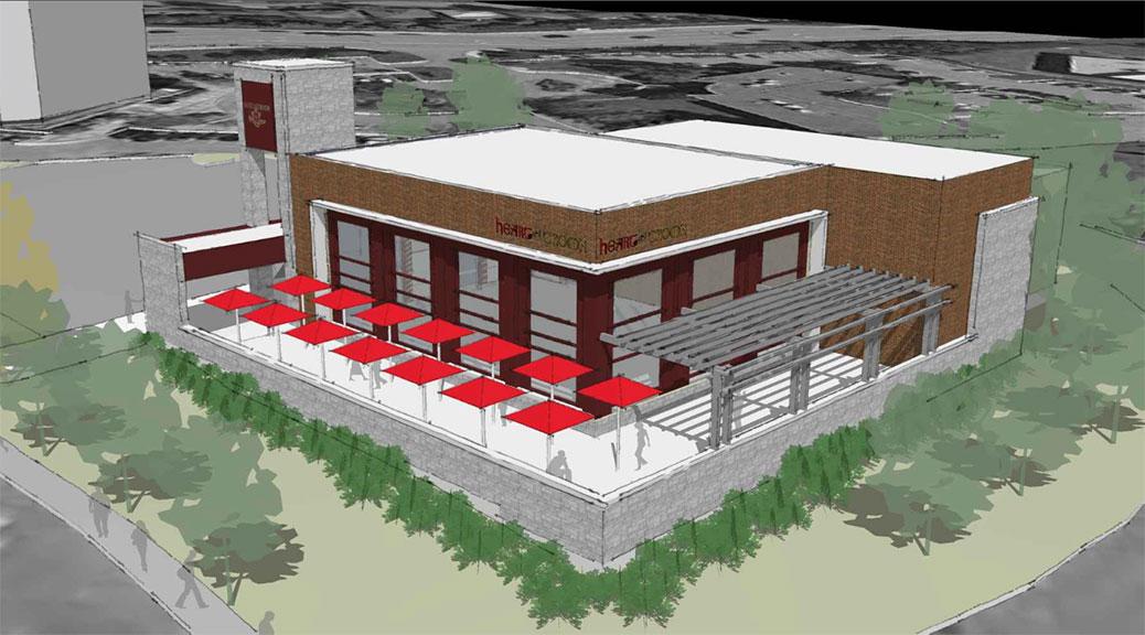 Proposed building at 301 Palladium Drive in Kanata