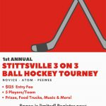 Registration open until October 8 for Stittsville ball hockey tourney