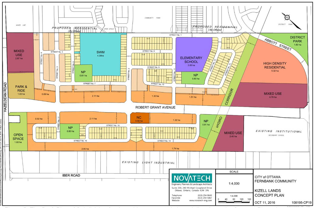 Proposed land use for 5618 Hazeldean