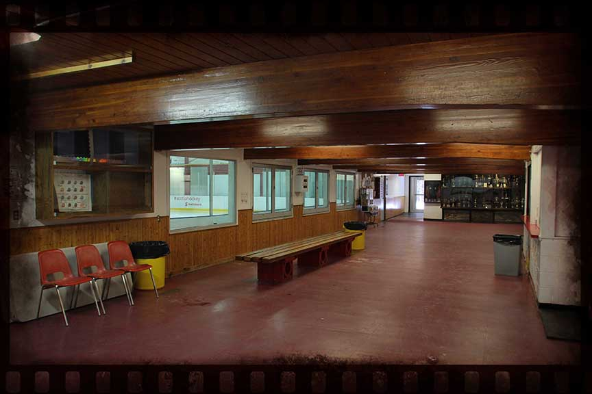 Lobby of the arena. Barry Gray (for StittsvilleCentral)