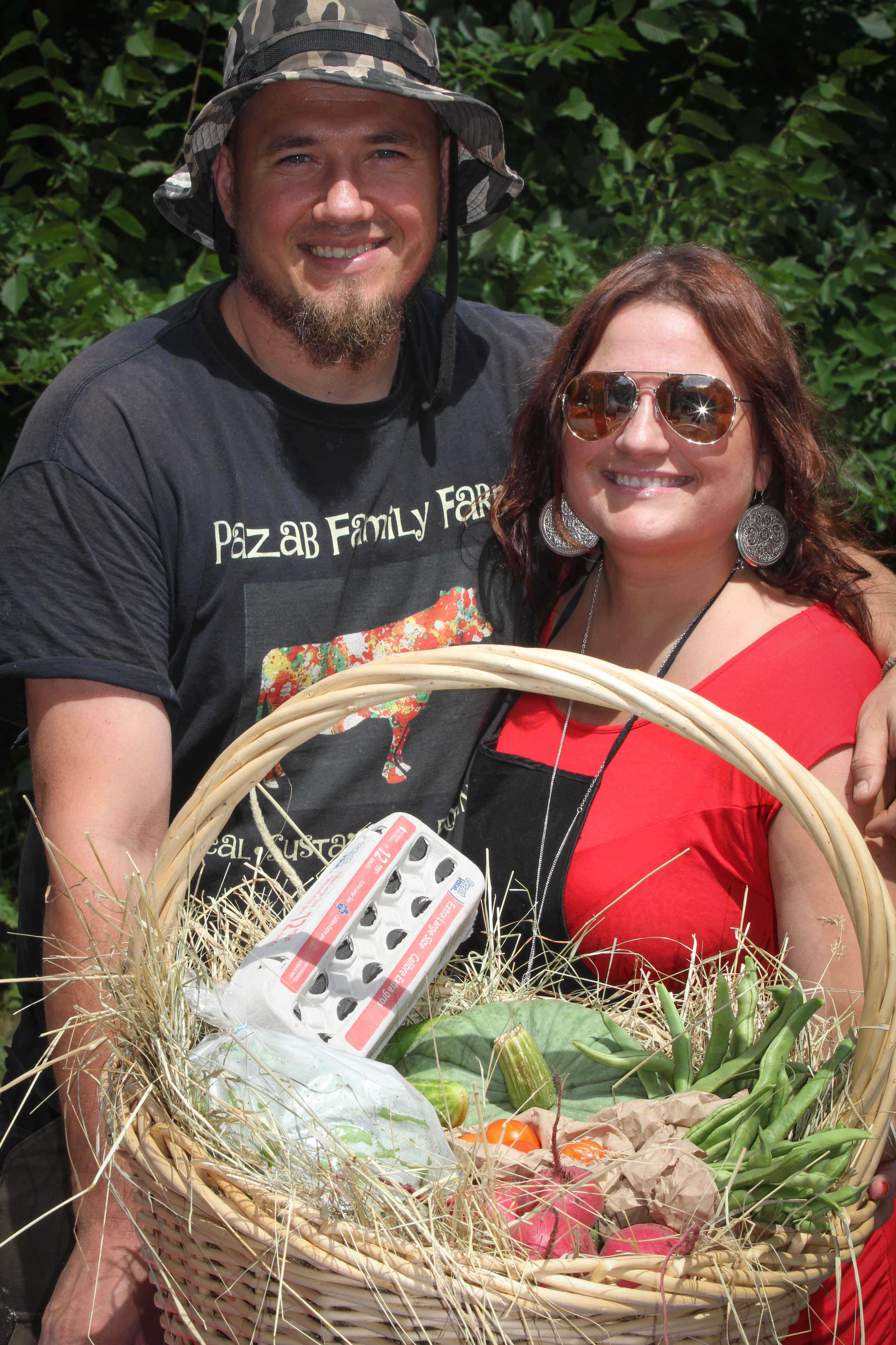STITTSVILLE, ON, August 14, 2016. Some fresh produce baskets Art in the Park at Village Square. Barry Gray (StittsvilleCentral)