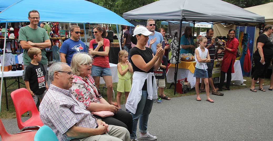 STITTSVILLE, ON, August 14, 2016. Appreciation for the performers at Art in the Park at Village Square. Barry Gray (StittsvilleCentral)