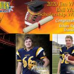 Bell Warriors announce 2020 Jim Wagdin Scholarship winners