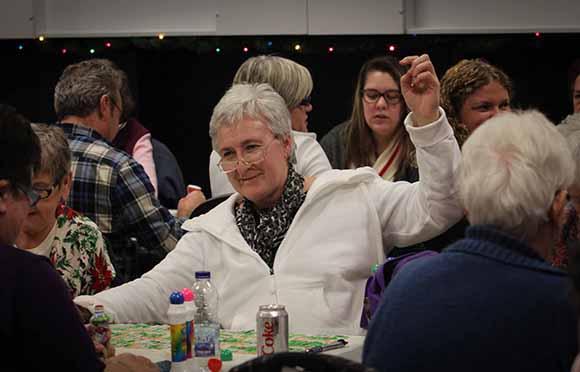 STITTSVILLE, ON. December 16. 2015. The last winner of bingo at the Stittsville Legion, Diane Statham. Barry Gray (For StittsvilleCentral).