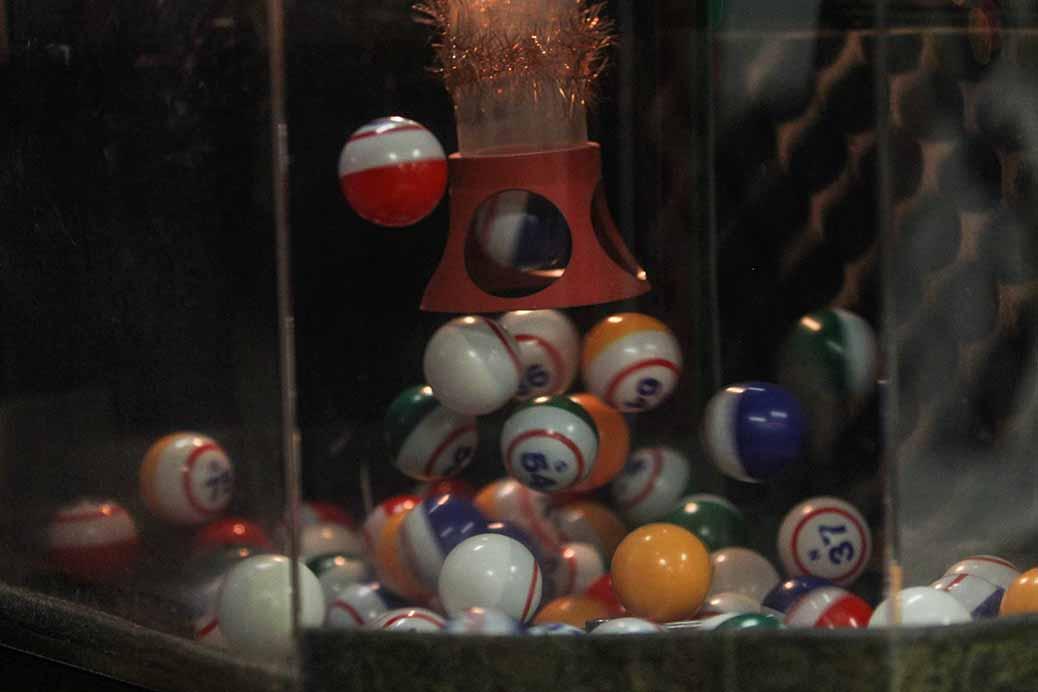 STITTSVILLE, ON. December 16. 2015. Bingo balls at the final bingo night at the Stittsville Legion. Barry Gray (For StittsvilleCentral).