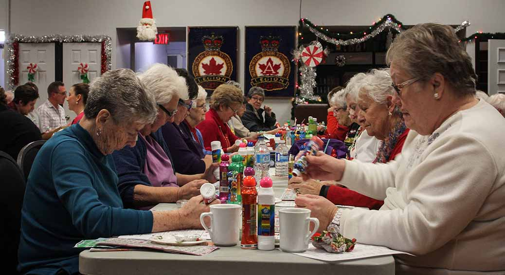 STITTSVILLE, ON. December 16. 2015. A packed house at the last night of bingo at the Stittsville Legion. Barry Gray (For StittsvilleCentral).