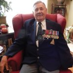 A Remembrance Story: Veteran carries physical reminder of Second World War