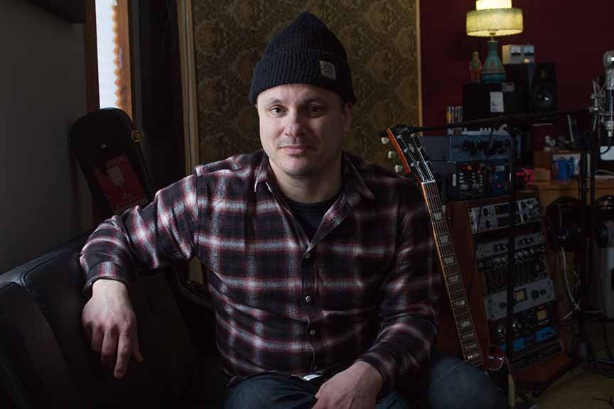 Jim Bryson at his studio in Stittsville. Photo by Barry Gray.