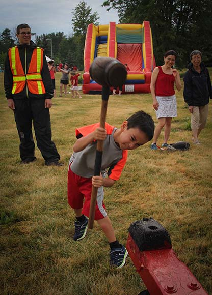 STITTSVILLE, ON, July 1 2016. Lots of effort at the games at the Canada Day Activities. Barry Gray (StittsvilleCentral)