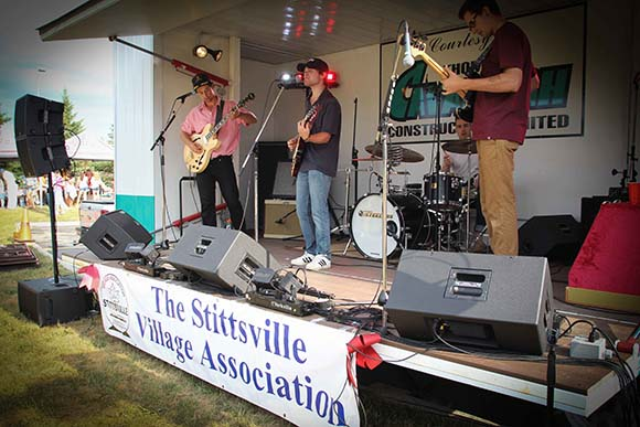 STITTSVILLE, ON, July 1 2016. Lost of music before the rain cut short the activities. Barry Gray (StittsvilleCentral)