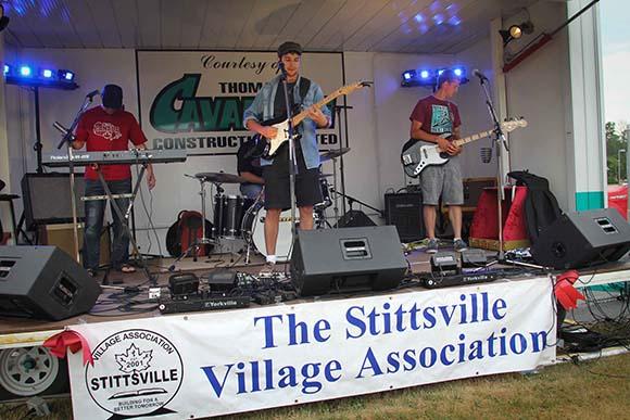 STITTSVILLE, ON, July 1 2016. Music getting underway. Barry Gray (StittsvilleCentral)