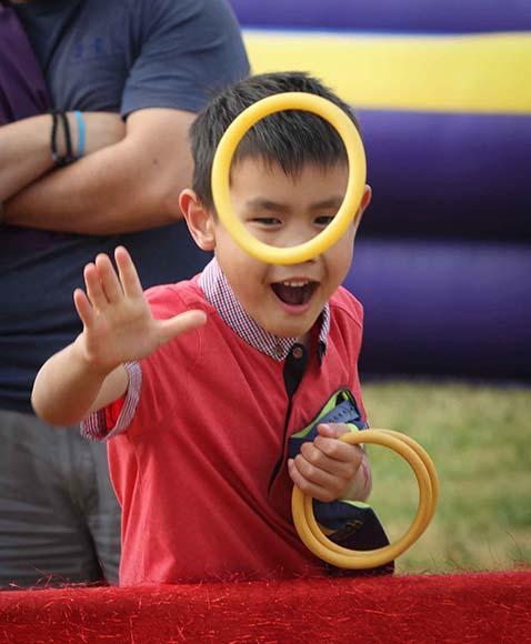 STITTSVILLE, ON, July 1 2016. Some of the fun games at Stittsville Village Association Canada Day. Barry Gray (StittsvilleCentral)