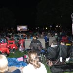 Photos: Terrific turn-out for Councillor Gower's free movie night at Village Square Park
