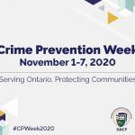 Crime Prevention Week – November 1-7