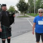 Bagpipes fill Stittsville's air for the virtual Kidney Walk on September 27