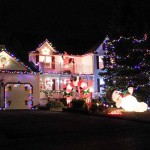 HOLIDAY SPIRIT: That crazy house on Elm