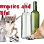 Empties for Paws – share the love February bottle drive