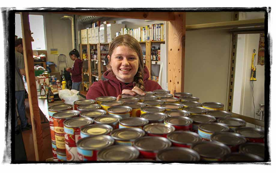 STITTSVILLE, ON, November 1, 2015. Stittsville Food Bank volunteer Caroline Frost. (Barry Gray/StittsvilleCentral)