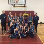 Gold Medal at regionals for Goulbourn Hornets Bantam Girl's basketball team