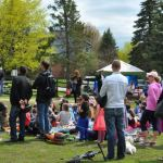 Stittsville's first annual crabapple blossom fest great success – despite weather