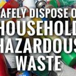 City of Ottawa holding an extended household hazardous waste depot