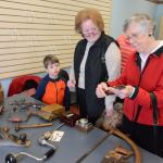 Heritage Day display brought antique tools aplenty to Historical Society celebration