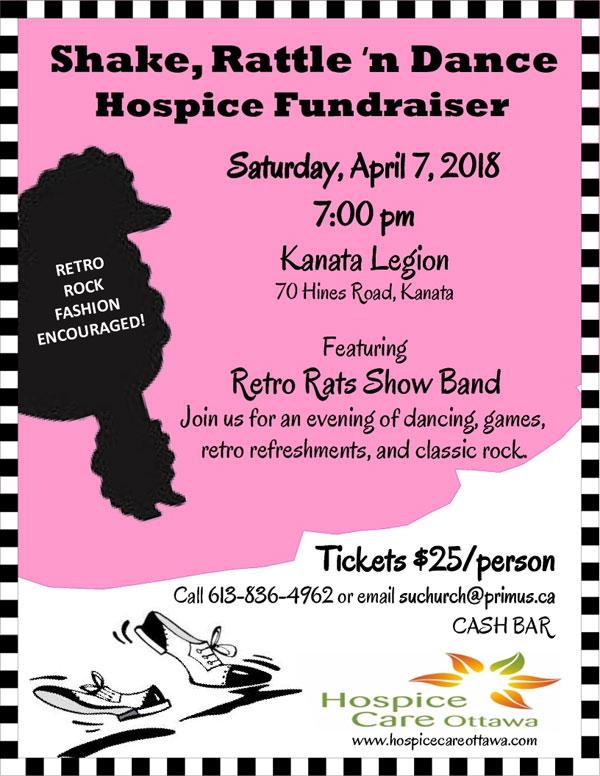 Shake, Rattle 'n Dance Hospice Fundraiser