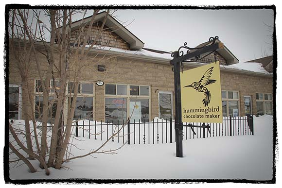 ALMONTE, ON. March 3, 2015.  Hummingbird Chocolate Maker store in Almonte.  (Photo by Barry Gray/For StittsvilleCentral.ca)
