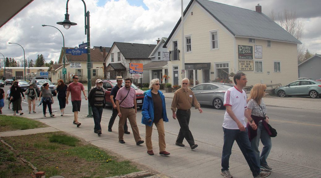 Jane's Walk 2016 on Stittsville Main Street. Photo by Barry Gray.