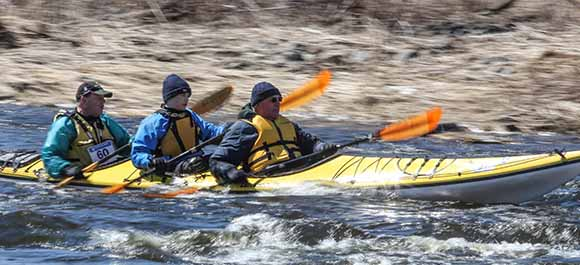 RICHMOND, ON. April 9, 2016. Shooting through some rapids on the Jock River. Barry Gray (StittsvilleCentral)