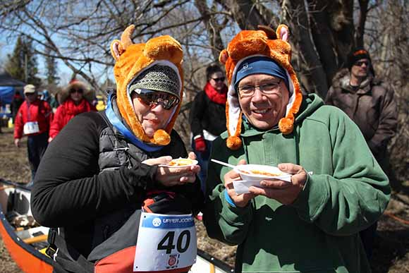 RICHMOND, ON. April 9, 2016. Chili and hot chocolate at the finish line. Barry Gray (StittsvilleCentral)