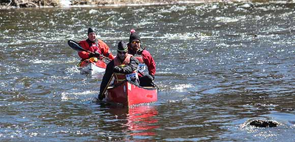 RICHMOND, ON. April 9, 2016. Paddlers on the Jock River. Barry Gray (StittsvilleCentral)