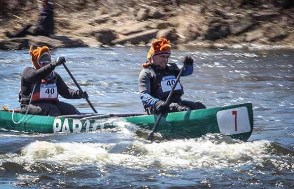 RICHMOND, ON. April 9, 2016. Paddling down the Jock River. Barry Gray (StittsvilleCentral)